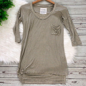 Free People We the Free Project Striped Tunic Top